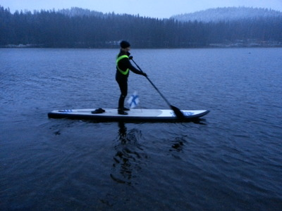 Kallavesi paddle board spot in Finland