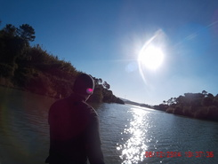 Barragem d são domingos sitio de stand up paddle / paddle surf en Portugal