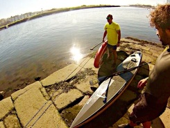 Vila do Conde sitio de stand up paddle / paddle surf en Portugal