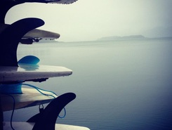 Arenal Lake sitio de stand up paddle / paddle surf en Costa Rica