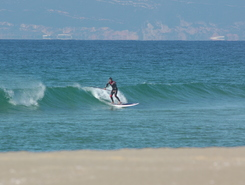 Praia da Comporta sitio de stand up paddle / paddle surf en Portugal