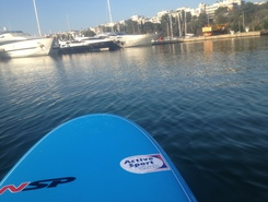 Thessaloniki   bay  spot de stand up paddle en Grèce
