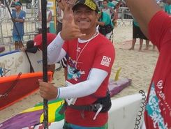 Copacabana Posto 6 sitio de stand up paddle / paddle surf en Brasil
