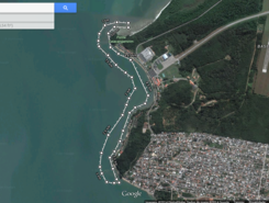 base Aerea de Florianopolis sitio de stand up paddle / paddle surf en Brasil
