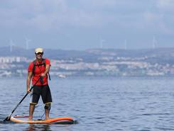 Rio tejo spot de stand up paddle en Portugal