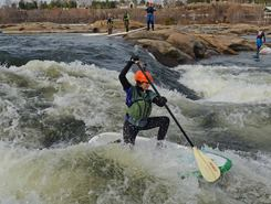 James River spot de stand up paddle en États-Unis