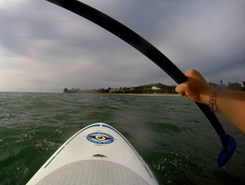 Santa Barbara paddle board spot in United States