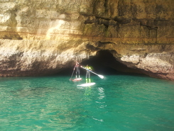 Grutas de Benagil paddle board spot in Portugal