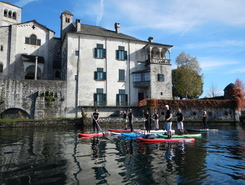 lago d'aorta sitio de stand up paddle / paddle surf en Italia