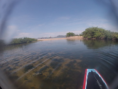 Cachoeira do Bom Jesus sitio de stand up paddle / paddle surf en Brasil