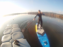 Lac de la Grande Paroisse spot de stand up paddle en France