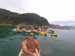 Maresias sitio de stand up paddle / paddle surf en Brasil