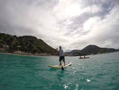Grand Case OC4 Island paddle board spot in Sint Maarten