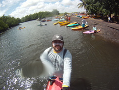 porto de baia formosa paddle board spot in Brazil