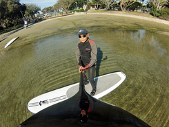 huntington harbor sitio de stand up paddle / paddle surf en Estados Unidos