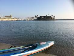 Dana Pt., CA sitio de stand up paddle / paddle surf en Estados Unidos
