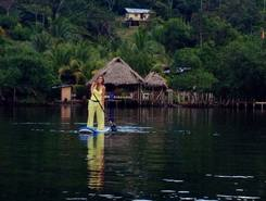 Bocas Del Toro paddle board spot in Panama