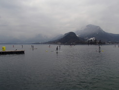 Annecy - plage d'Albigny paddle board spot in France
