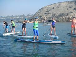 Newport Aquatic Center spot de stand up paddle en États-Unis