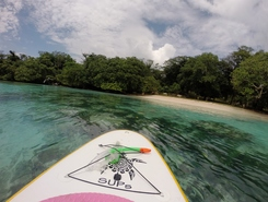 Port Olry paddle board spot in Vanuatu