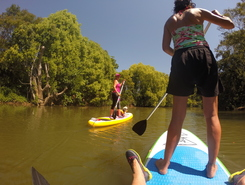 Mullumbimby paddle board spot in Australia