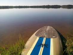 Lagoa da Serra paddle board spot in Brazil