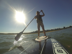 Manguinhos paddle board spot in Brazil