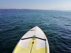 Le Vengeron sitio de stand up paddle / paddle surf en Suiza