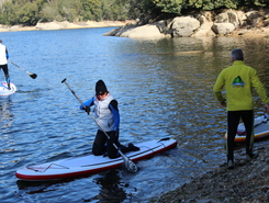 Alto Mondego sitio de stand up paddle / paddle surf en Portugal