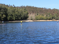 Alto Mondego paddle board spot in Portugal