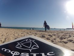 Praia de Duquesa paddle board spot in Portugal