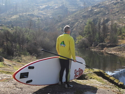 Rio Seia spot de stand up paddle en Portugal