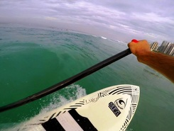 Posto 3 1/2 sitio de stand up paddle / paddle surf en Brasil