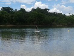 Jaguara paddle board spot in Brazil