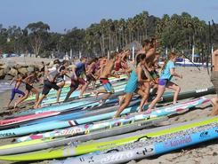 Doheny State Beach spot de stand up paddle en États-Unis