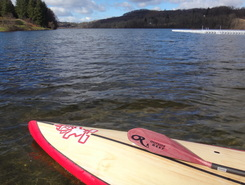 Lac de Lourdes spot de stand up paddle en France