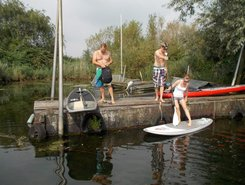 Hollandse Biesbosch spot de stand up paddle en Pays-Bas