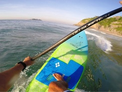 Joatinga spot de stand up paddle en Brésil