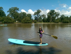 Currumbin river spot de stand up paddle en Australie