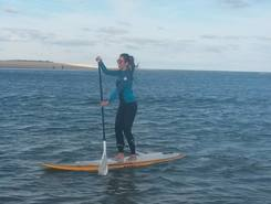 Fuseta paddle board spot in Portugal