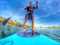 Clube Nautico Buritama paddle board spot in Brazil