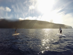 Hanga Nui sitio de stand up paddle / paddle surf en Chile