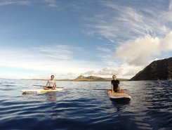 Hanga Nui spot de stand up paddle en Chili