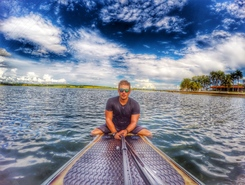 Remada no CNB sitio de stand up paddle / paddle surf en Brasil