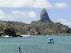 Praia do Porto -  Fernando de Noronha sitio de stand up paddle / paddle surf en Brasil