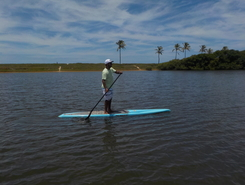 Rio Joanes - Bahia sitio de stand up paddle / paddle surf en Brasil