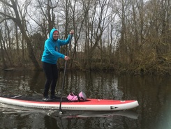 Schwentine sitio de stand up paddle / paddle surf en Alemania