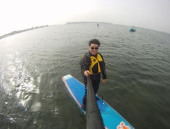 Poole Harbour spot de stand up paddle en Royaume-Uni
