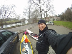 Pulteney Bridge in Bath to Saltford spot de stand up paddle en Royaume-Uni