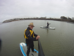 Clevedon Marine Lake spot de stand up paddle en Royaume-Uni